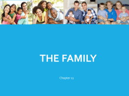 Chapter 7 – The Family