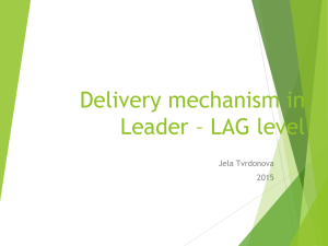 Delivery mechanism in Leader