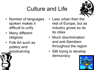 Culture and Life