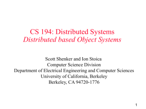 Systems Area: OS and Networking