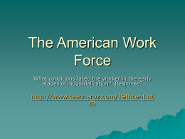 The American Work Force