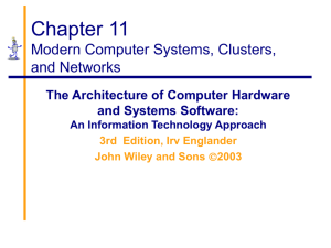 11.Computer Systems, Clusters, and Networks