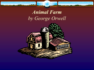Animal Farm Animal Farm, which