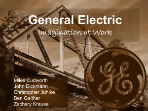 General Electric Imagination at Work