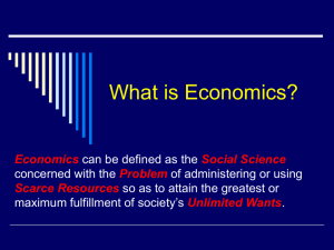 What is Economics.s02