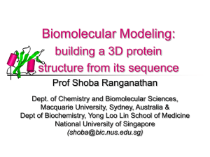 Shoba Ranganathan - National University of Singapore