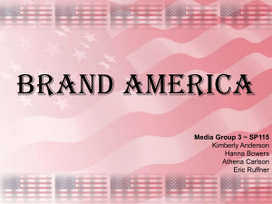 Group 3 ~ Brand America - Kimberly Burdon's Speech Wiki