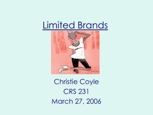 Limited Brands Company Profile
