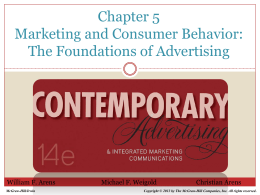 Chapter 5 Advertising