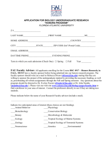 In order to apply for the Biological Sciences Undergraduate Honors