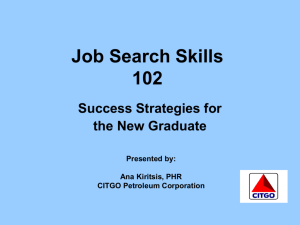 Job Search Skill 102