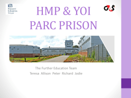 hmp parc prison - Prisoners' Education Trust