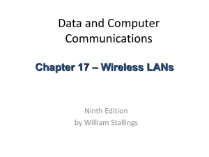 Chapter 17 - CS415 Computer Communications