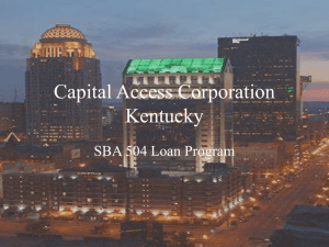 the Capital Access Corp