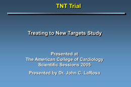 Trial Overview - Clinical Trial Results