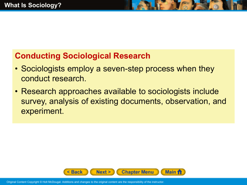 What is sociology 64