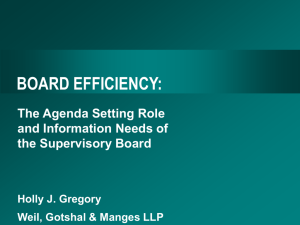 board efficiency