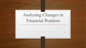 Analyzing Changes in Financial Position (3).