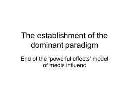 limited effects model
