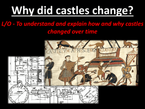 How were castles designed?
