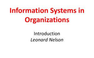 Systems Thinking and Managing Complexity