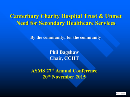Canterbury Charity Hospital Trust