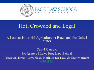 Hot, Crowded and Legal