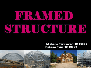 Framed Structure Presentation