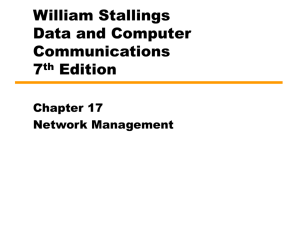 Chapter 17 Network Management