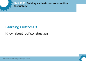 Unit 1003 Building methods and construction technology