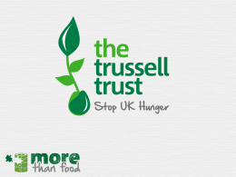 Our Foodbank Network