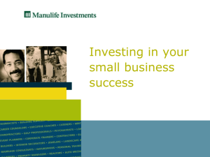 Business Succession Presentation - JVK Life & Wealth Advisory Group