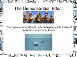 Demonstration Effect