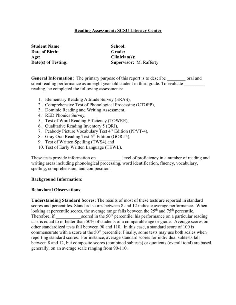 Clinic Template SCSU 11-13