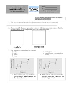 Calorimetry Worksheet: