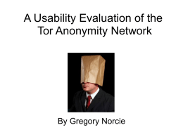 tor -norcie