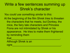 Shrek part 3