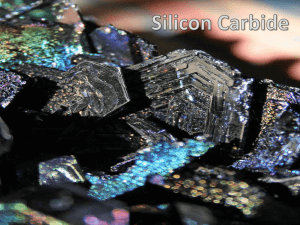 Silicon Carbide Presentation