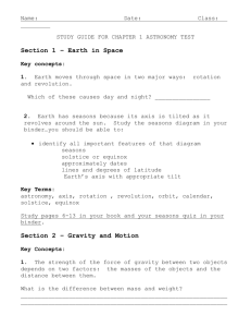 STUDY GUIDE FOR Ch1 ASTRO TEST'13 / Microsoft Word