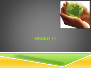 Green IT - RiskManagement2010