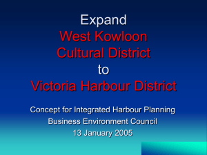 Expand West Kowloon Cultural District to Victoria Harbour District