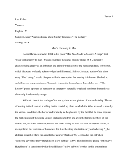 english 123 mla correct essay - Toulmin Analysis Essay Example