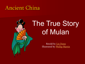 The True Story of Mulan - Pete's Power Point Station