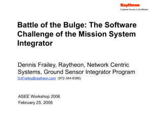 2006_WS_BattleOfTheBulge - Association for Software