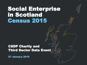 Jonathan Coburn Social Enterprise Census Slides