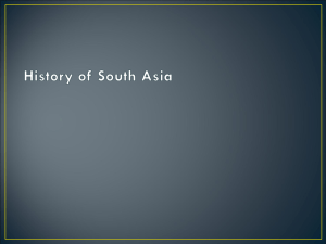 Buddhism to History of South Asia 2014