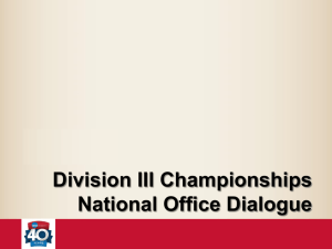 Division III Championships