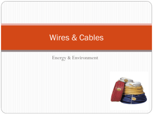 Wires & Cables - Learning While Doing