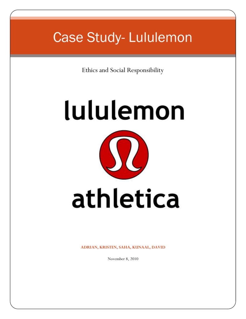 case study lululemon