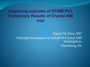 Slides - Clinical Trial Results